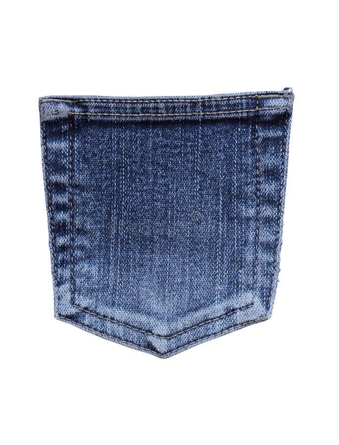 Bolsillo de los pantalones vaqueros imagenes de archivo