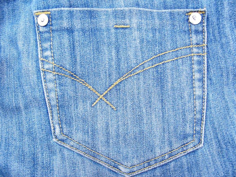 Bolsillo de los pantalones vaqueros fotos de archivo libres de regalías