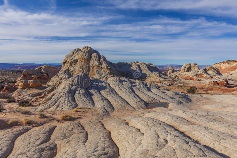 Bolso branco, platô de Paria, monumento nacional dos penhascos dos vermelhões fotos de stock