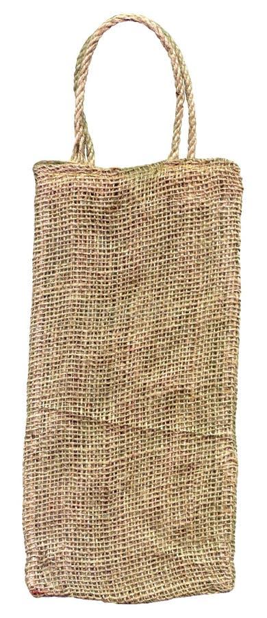 Bolso de arpillera imagen de archivo