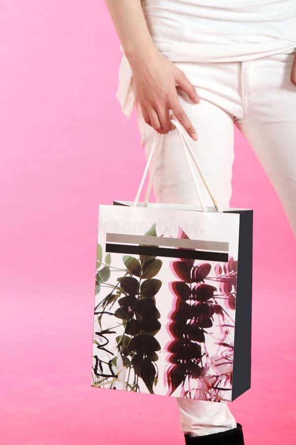 Bolso de compras. imagen de archivo libre de regalías