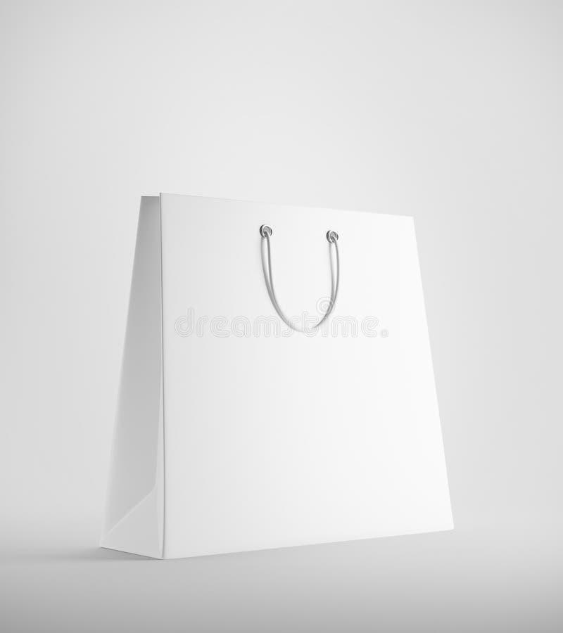 Bolso de compras blanco libre illustration