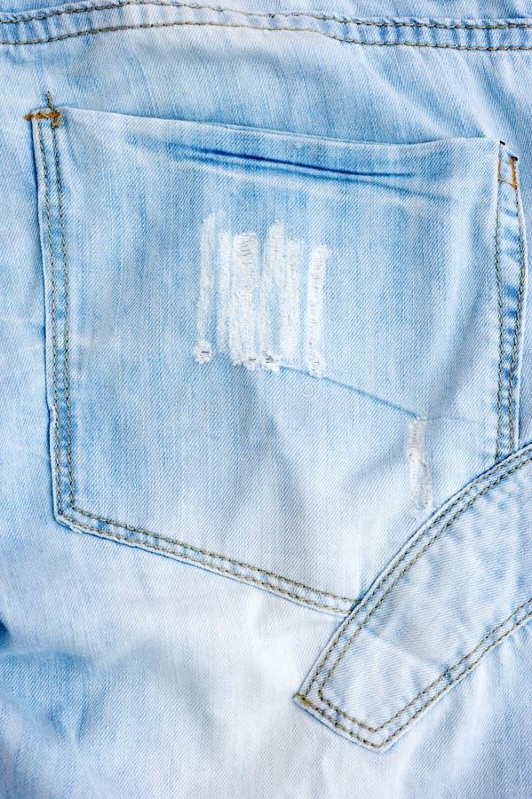 Bolso de Jean foto de stock