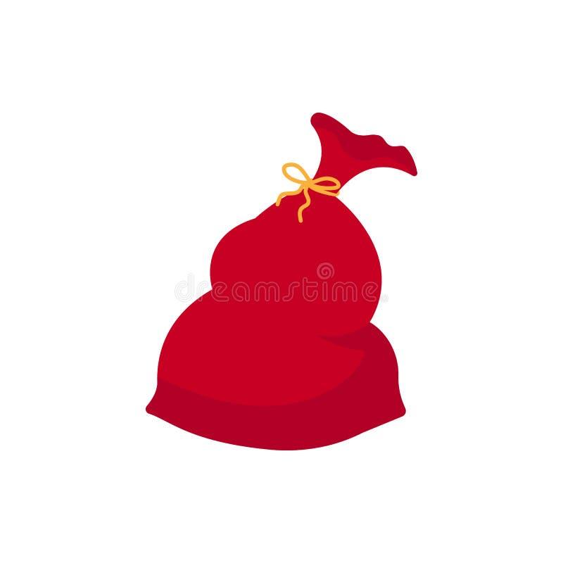 Bolso de los regalos del ` s de Papá Noel libre illustration