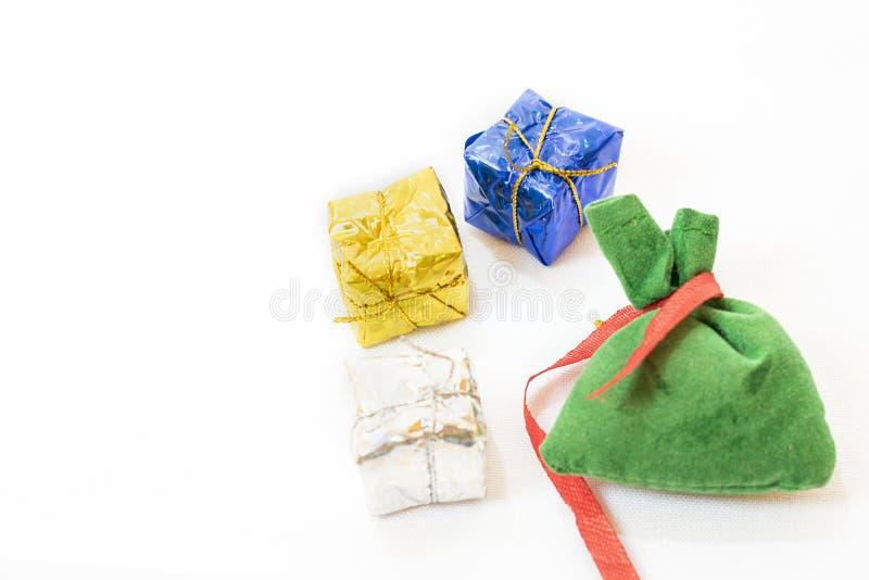 Bolso de regalos imagenes de archivo