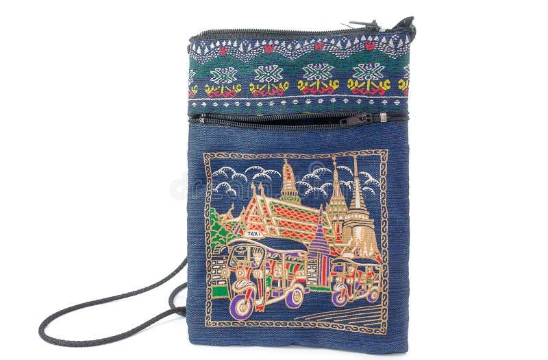 Bolso de seda imagen de archivo libre de regalías