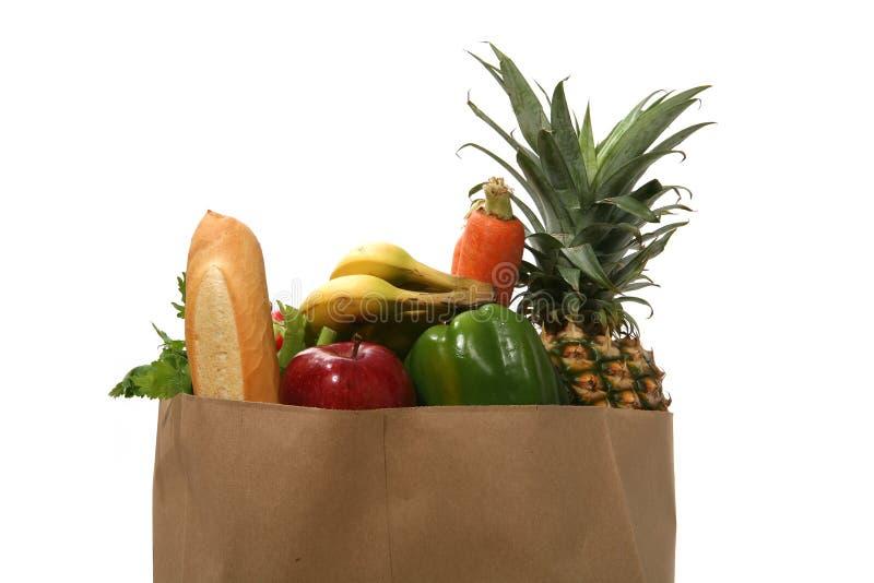 Bolso de tienda de comestibles foto de archivo