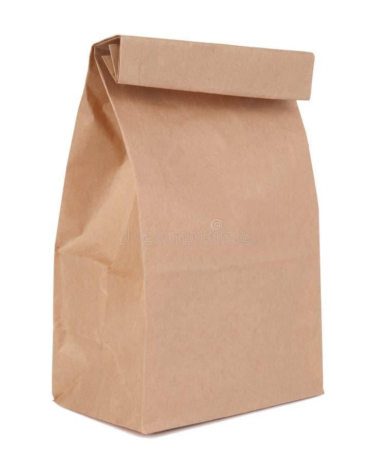Bolso del almuerzo fotografía de archivo libre de regalías