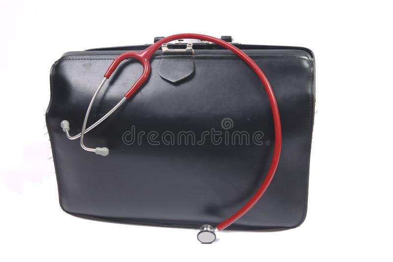 Bolso del doctor fotografía de archivo libre de regalías