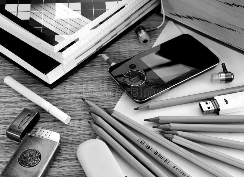 Bolso del estudiante fotografía de archivo libre de regalías