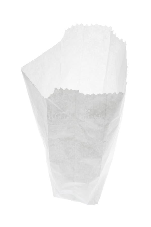 Bolso del Libro Blanco foto de archivo libre de regalías