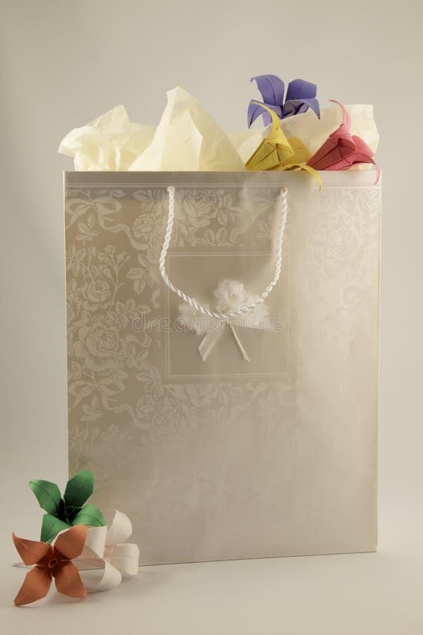Bolso del regalo imagenes de archivo