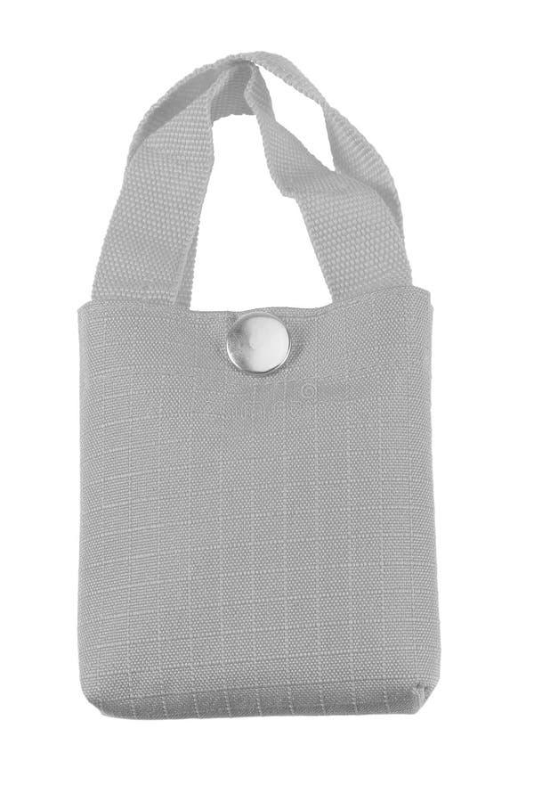 Bolsa de viaje en negro, gris y blanco con cremallera