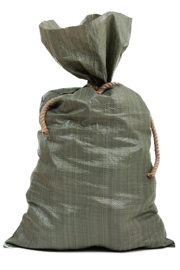 Bolso lleno del saco foto de archivo libre de regalías