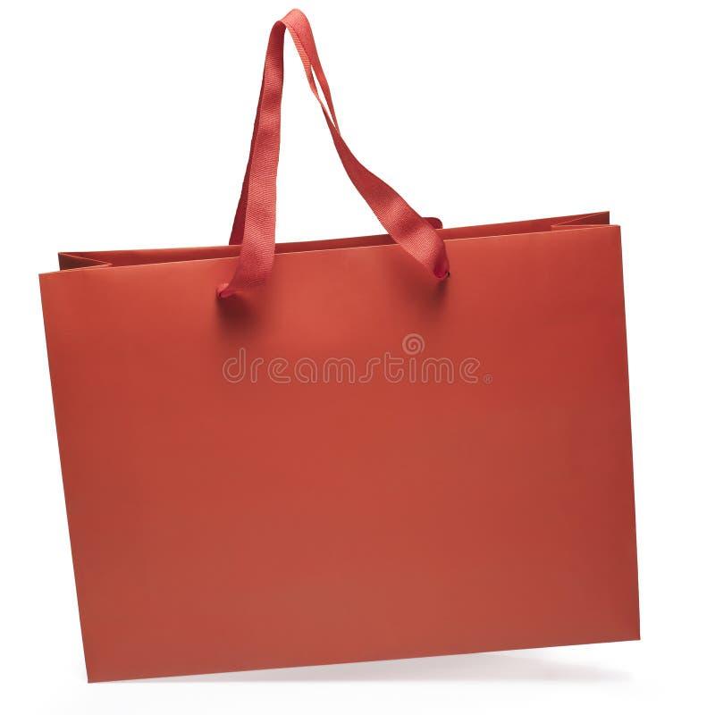 Bolso rojo imágenes de archivo libres de regalías