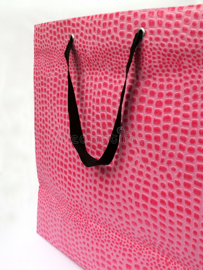 Bolso rosado imagen de archivo