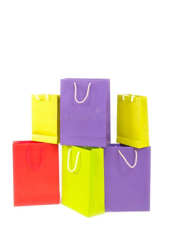 Download Bolsos de compras imagen de archivo. Imagen de coloreado - 7277087