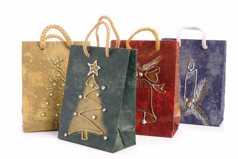 Download Bolsos De Compras De La Navidad Imagen de archivo - Imagen de estacional, objeto: 7151357