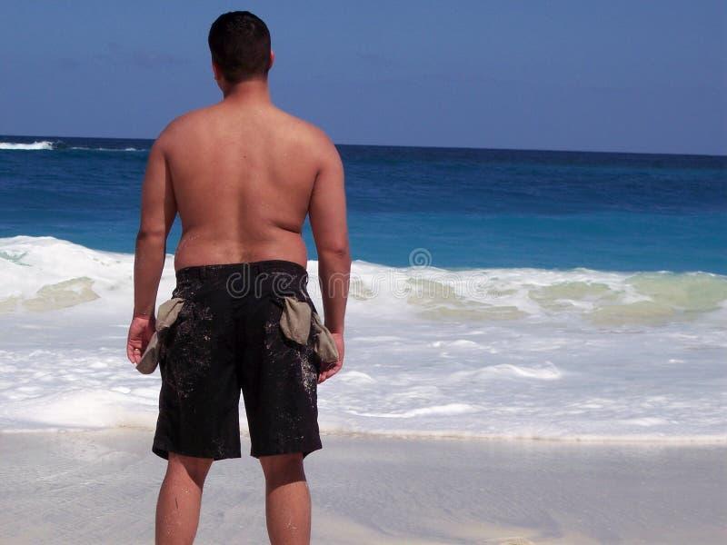 Bolsos De Sandy Imagem de Stock