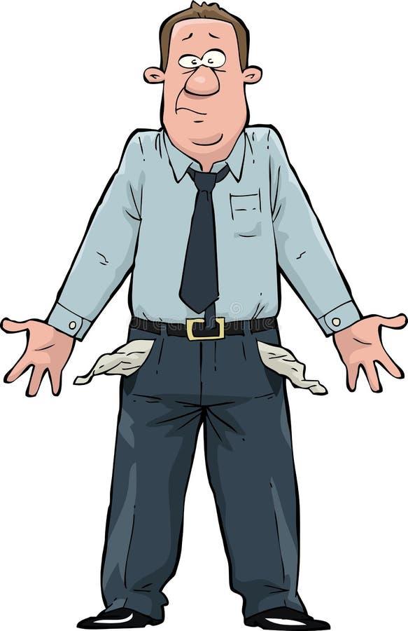 Bolsos vazios ilustração do vetor