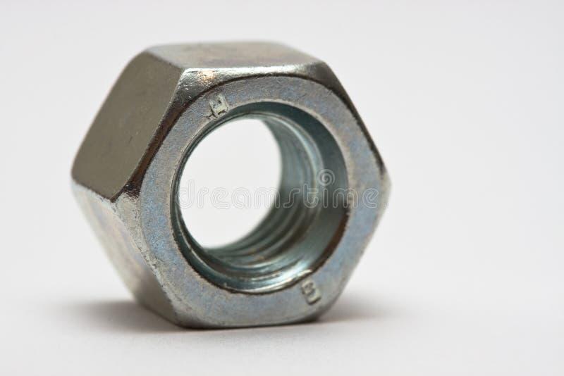 Bolt macro. Macro of an iron bolt stock photography
