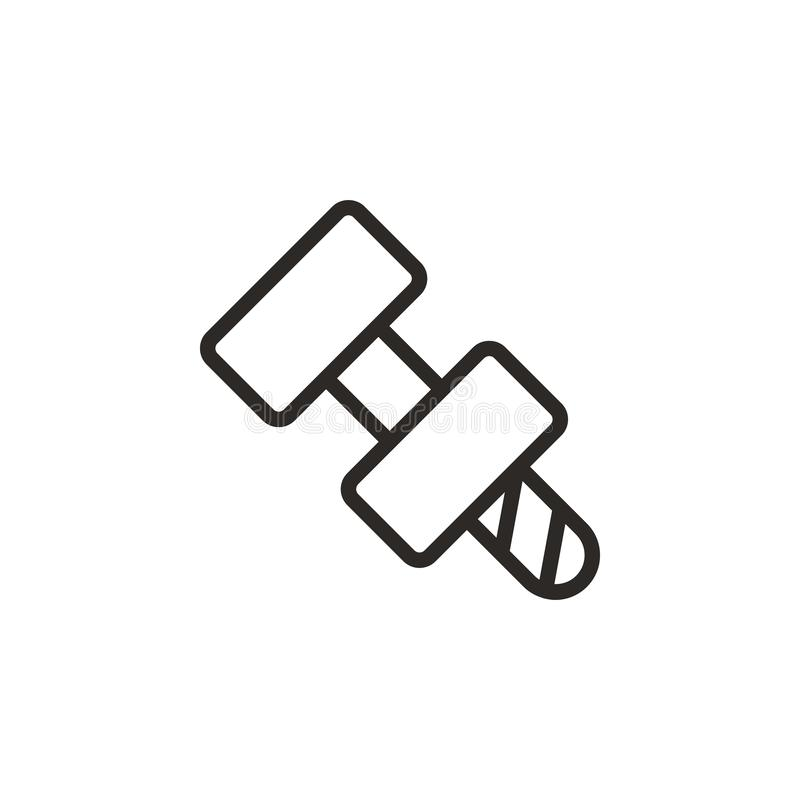 Bolt Nut Icon Element Of Design Tool For Mobile Concept And Web Apps Thin Line Icon For Website Design And Stock Illustration Illustration Of Repair Interface 144562580