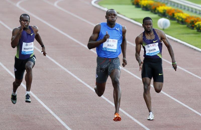 Bolt Usain royalty free stock image