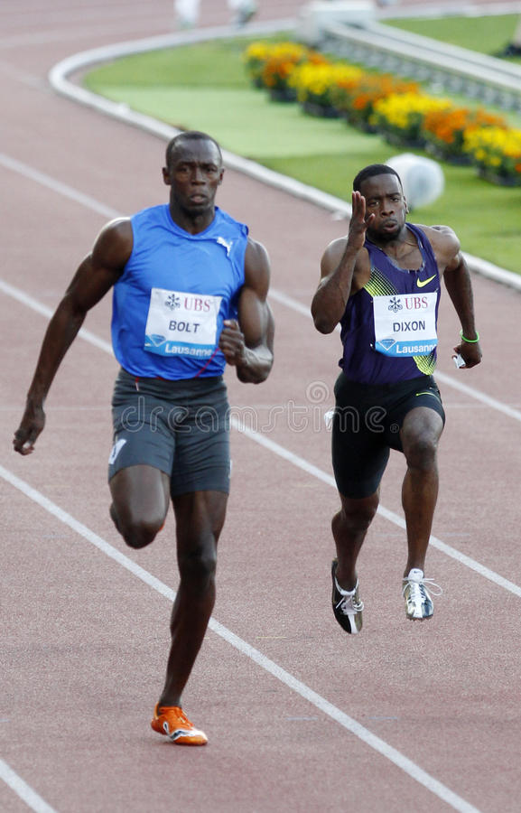 Bolt Usain royalty free stock images