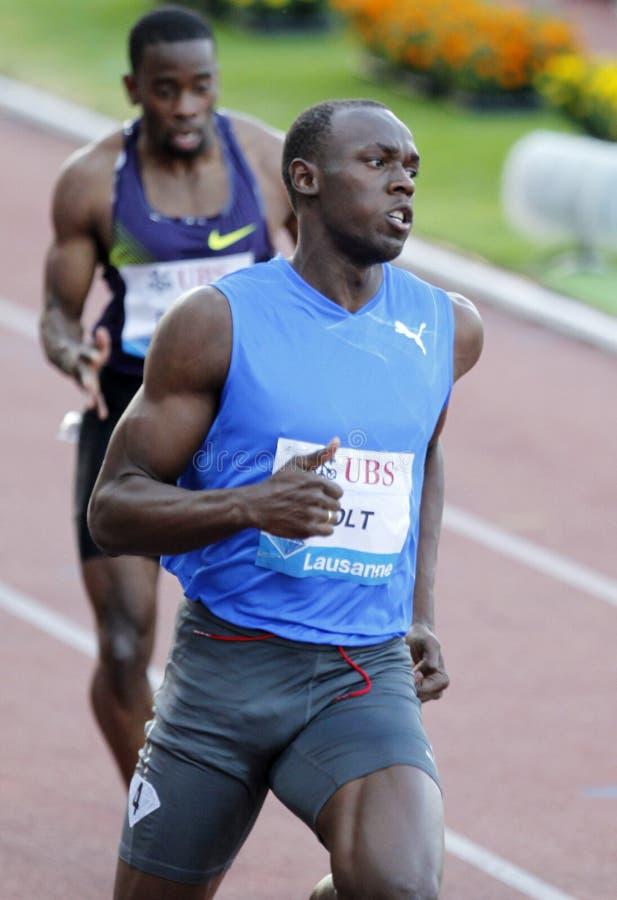 Bolt Usain royalty free stock photography