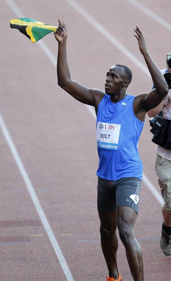 Bolt Usain stock photo