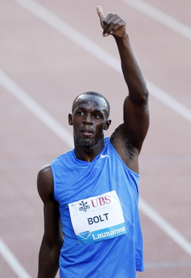 Bolt Usain royalty free stock photo