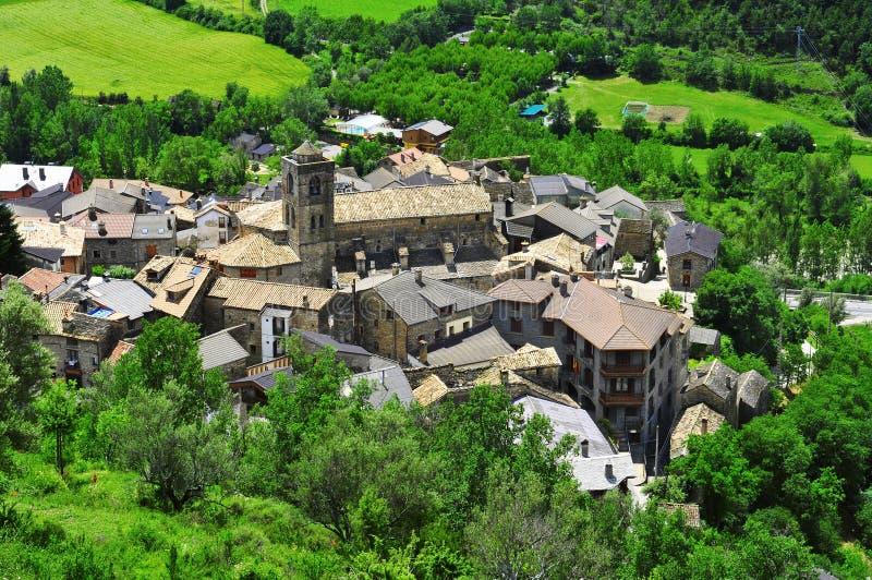 Boltanya i Huesca, Spanien arkivbilder
