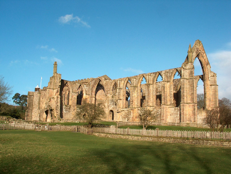 Download Bolton Abbey stock image. Image of british, wharfe, yorkshire - 549701