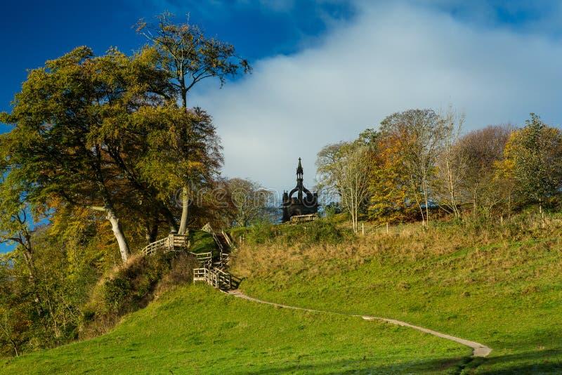 Bolton Abbey Cavendish Memorial Fountain fotografia stock