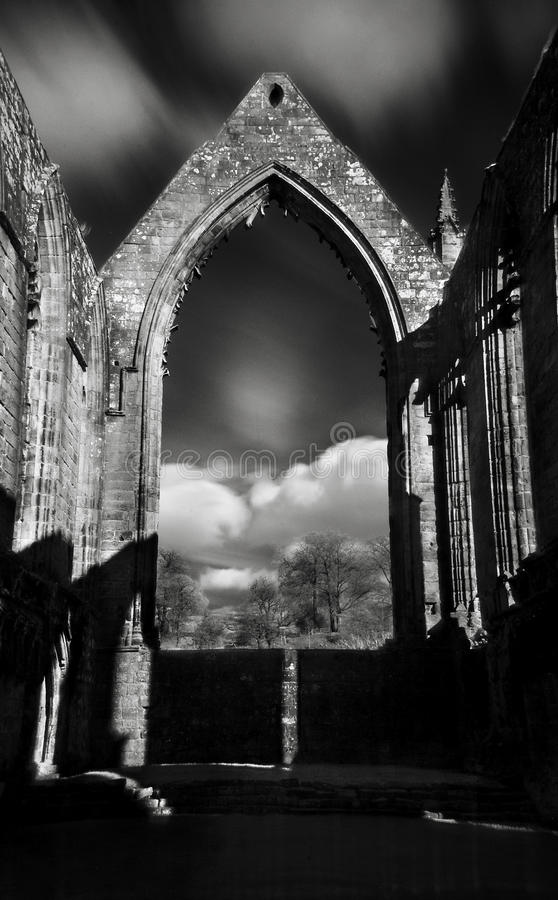 Bolton Abbey royalty free stock photo