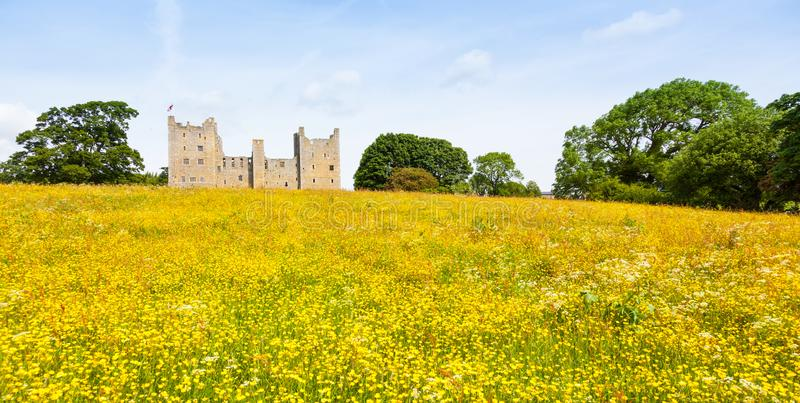 Bolton Castle in North Yorkshire stock images