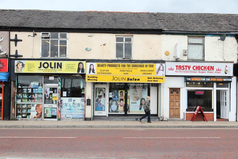 Bolton Regno Unito fotografie stock libere da diritti