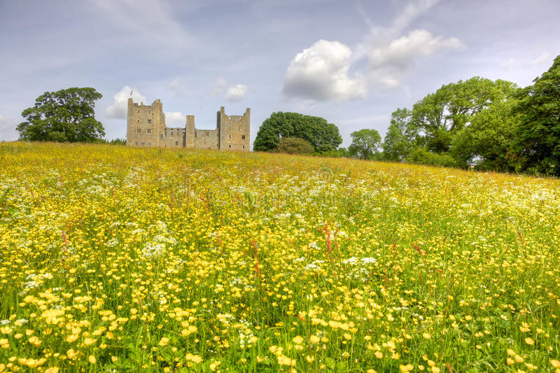 Bolton slott royaltyfria foton