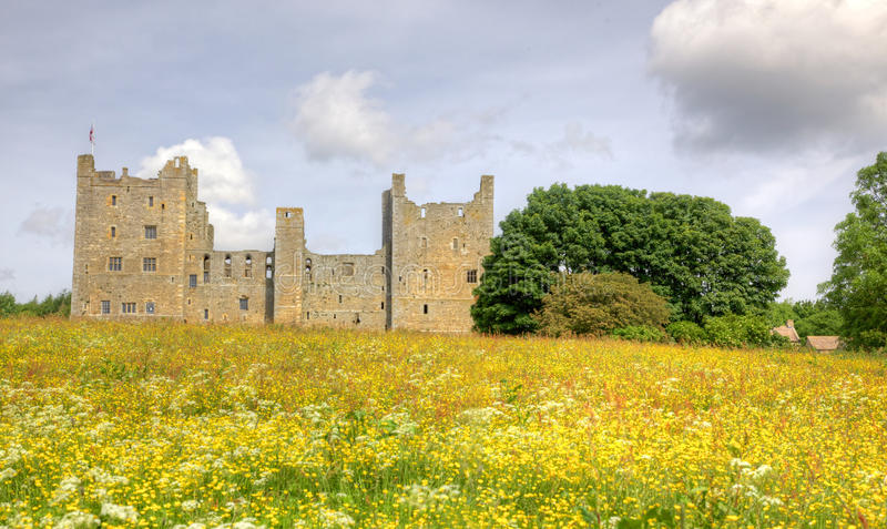 Bolton slott royaltyfri bild