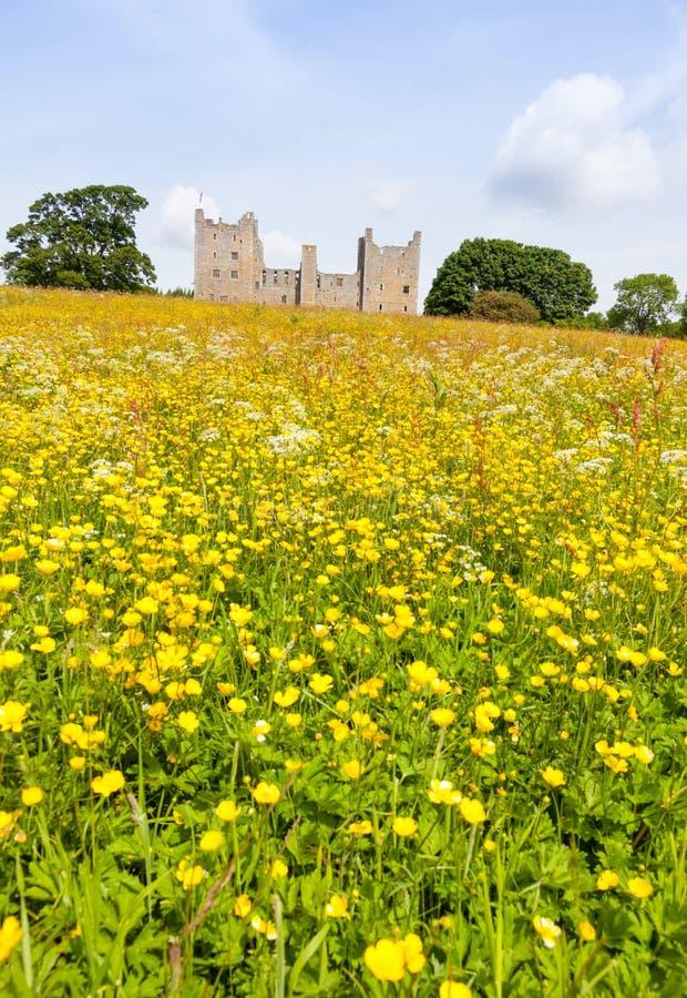Bolton slott i North Yorkshire arkivbilder