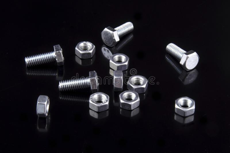 Download Bolts stock image. Image of horizontal, part, industry - 11260387