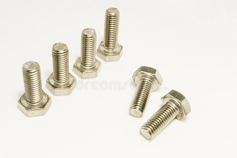 Bolts stock image