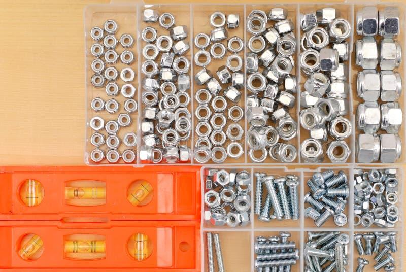 Download Bolts konstruktion fotografering för bildbyråer. Bild av utrustning - 19796475