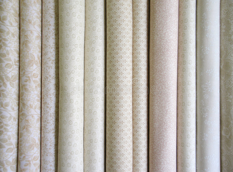 Download Bolts of neutral fabric stock photo. Image of beige, quilt - 3516564