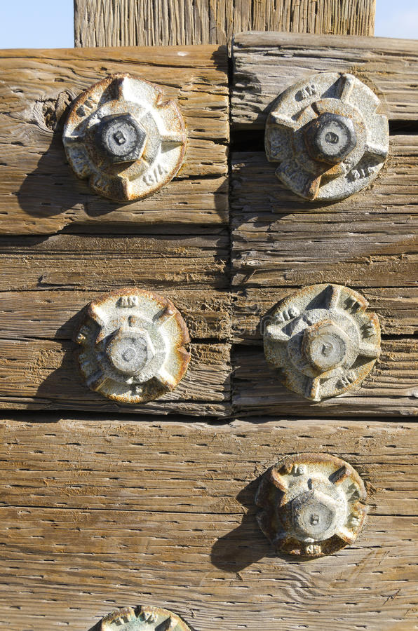 Download Bolts At Pier 39 In San Francisco Stock Image - Image: 25976235