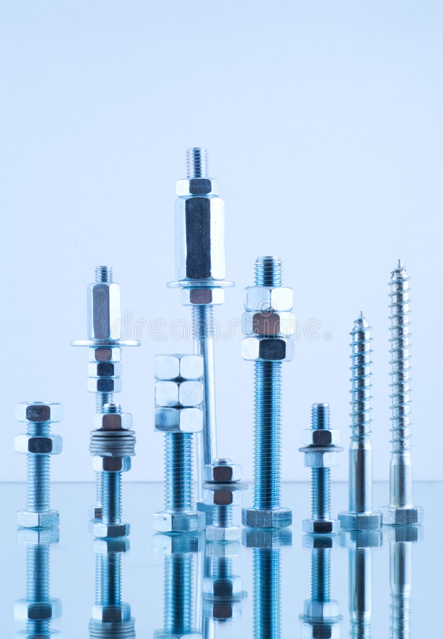 Download Bolts, Screws, Nuts Royalty Free Stock Photos - Image: 4955818