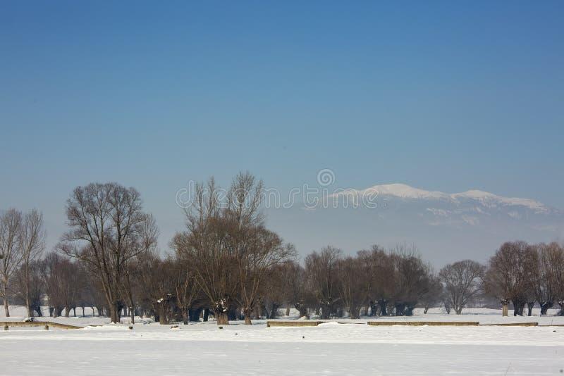 Bolu / Turkey, winter snow season landscape. Travel concept photo.  royalty free stock images