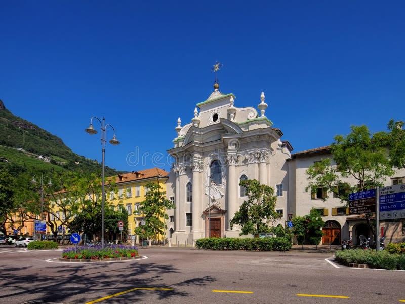 Bolzano Abbey Muri-Gries fotografia stock libera da diritti