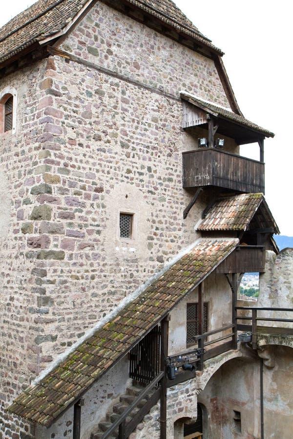bolzano castel italy nära roncolo royaltyfria foton