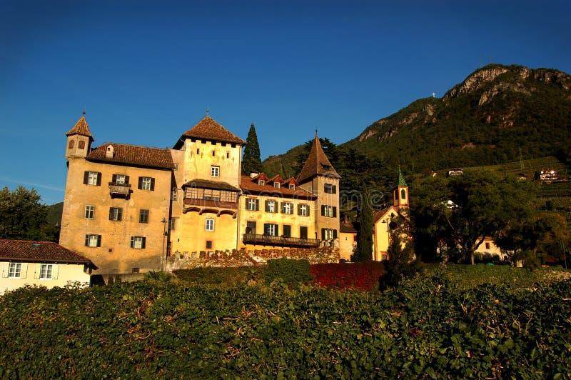 Bolzano,Italy. Medieval architecture of Bolzano, Trentino – Alto Adige in northern Italy stock photo